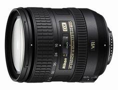 NIKON - Nikon 16-85mm f/3.5-5.6G AF-S DX ED VR Nikkor Wide-Angle Telephoto Zoom Lens for Nikon DSLR Cameras