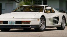 1986 Ferrari Testarossa Miami Vice Hero Car