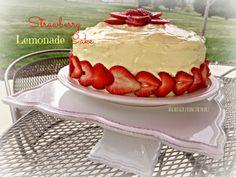 an affair from the heart: Strawberry Lemonade Cake