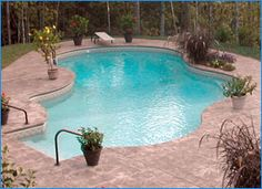 Raleigh Inground Pool | Inground Vinyl Swimming Pools | Moutain Lake Pool