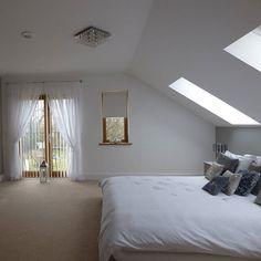 Bedroom on attic