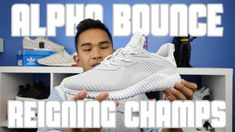 LATEST PICKUP: Adidas Alpha Bounce x Reigning Champs Collab x Reigning C...