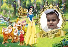 Pamuk Prenses Temalı Doğum Günü afişi