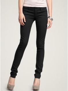 Needing some black skinnies. I'm still keeping my eye out for rust red and dark plum.