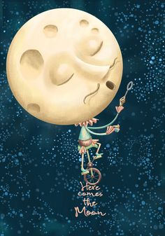 Here comes the moon. | por Cuaderno Azul Poemario