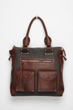 Deena & Ozzy Structured Tote Bag $49
