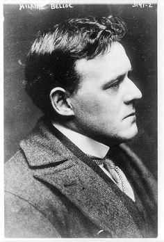 [Hilaire Belloc, 1870- , bust portrait, profile]