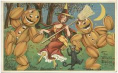 Antique Halloween Cards - Page 16