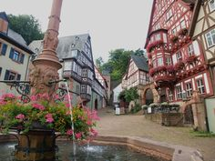 Miltenberg, Germany...fairytale villages really do exist :)