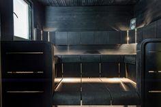 Garage Interior, Interior And Exterior, Interior Design, Sauna Design, Sauna Room, Small Rooms, Mudroom, Blinds, Sweet Home