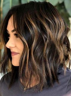Best Of Textured Balayage Bob Haircuts For Women - See Here And Apply Our Best B. - Best Of Textured Balayage Bob Haircuts For Women – See Here And Apply Our Best Balayage Hair Colo - Medium Length Hairstyles, Curly Hairstyles, Bob Hairstyles Brunette, Hairdos, Plus Size Hairstyles, Female Hairstyles, Gorgeous Hairstyles, Hairstyles Videos, Black Hairstyles