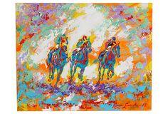 Galloping in Orange on OneKingsLane.com