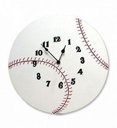 Baseball Clock $21.95