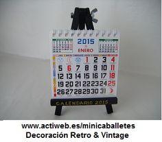 """Todos los Mini-caballetes han sido creados y diseñados por Juan Antonio Vizcaíno para """"Los Mini-caballetes"""" y """"Decoración Retro & Vintage"""""""