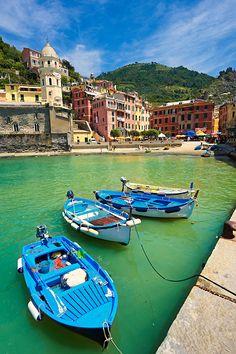the fishing port of Manarola, Cinque Terre National Park, Liguria, Italy