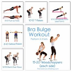 Bye Bye Bra Bulge | If you've gotten rid of your muffin top, toned your arms, and built legs an Olympic runner would be proud of…it's time to work on the area that always makes it look like your bra is too small!