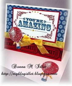You're Amazing - Stampin Up