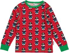Maxomorra Long Sleeved Top - Pirate Red - 98-104 cm / 3-4 years -- Awesome products selected by Anna Churchill