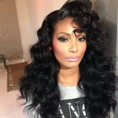 SHE'S GIVING YOU HAIR DARLING!...........CHECK OUT MORE AT DAILY BLACK BEAUTY EXCLUSIVES ON FACEBOOK