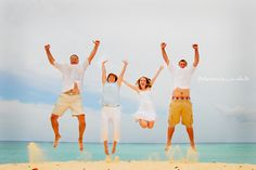 Family Beach Photoshoot | Flickr - Photo Sharing! I like the jump shot.