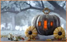 Pumpkin carriage is so cute I want to make it its funny i`m in love with it it`s so adorable awesome, this 1 sentence just turned super long and know it`s even longer sorry about that love this so so so much rocks my world ;0 :0