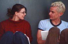 Behind the scenes of the movie Chance, written, directed and starting Amber Benson that James Marsters appears in.