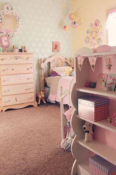Heart Handmade UK: Pastel Pretties   Perfect Childrens Bedroom from Itty Bitty Birdy