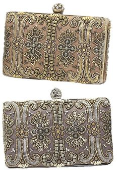 Beaded clutch.  Even though I embrace simplicity, I have a weakness for beaded items--tastefully done.