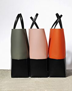 Celine FW2011 cloudy grey, cloudy pink, cloudy fluo orange.