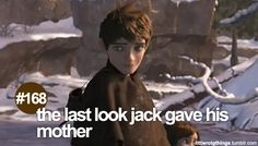 little RotG things: the last look Jack gave his mother