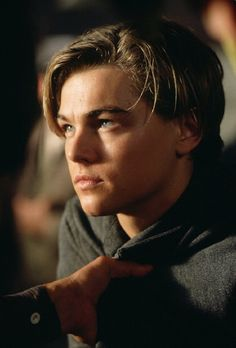 Leonardo Dicaprio as Jack in Titanic, 1997
