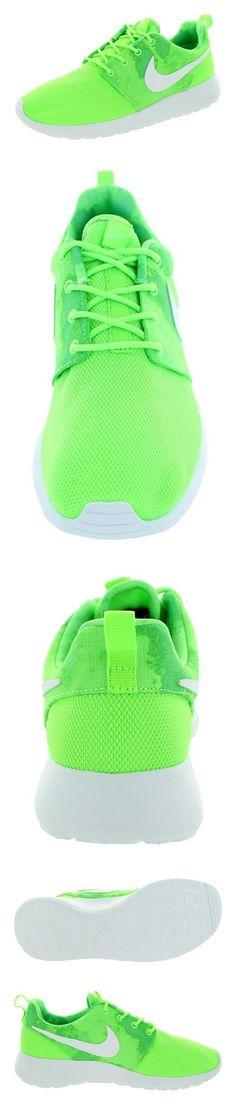 $80 - Nike Women's Rosherun Flash Lime/White/Menta Running Shoe 7.5 Women US #shoes #nike #2015