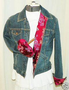 Vintage Levis Signature Denim Jean Jacket Metal buttons Junior 4 / 6 Embellished