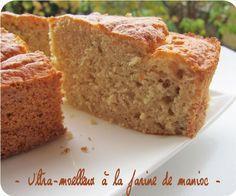Ultra -moelleux à la farine de manioc (gâteau sans gluten)