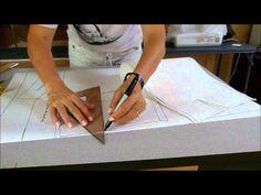 El costurero de stella- Plano de corte de la falda - YouTube