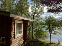 #Sauna am See Päijänne in Jyväskylä #Finnland
