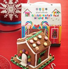 Dylan's Candy Bar Pre-Assembled Gingerbread House    $20.00