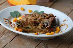 Lasagne, gefüllt mit rotem Mangold und Hokkaidokürbis - 365vegan - derStandard.at › Lifestyle