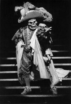 Michael Crawford as Red Death. Imagine this crashing your party.