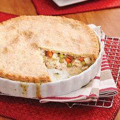 Canadian Food, Canadian Recipes, Pot Pie, Dessert Recipes, Desserts, Apple Pie, Chicken Recipes, Food And Drink, Turkey