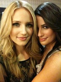 Glee Quinn And Rachel Photo by elle_ela | Photobucket
