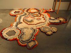Lichen (korstmos) carpet