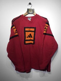 Adidas Sweatshirt size Medium £34 Website➡️ www.retroreflex.uk #adidas #trefoil #vintage #oldschool #truevintage