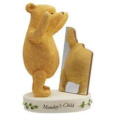 Classic Winnie The Pooh -  Mondays Child