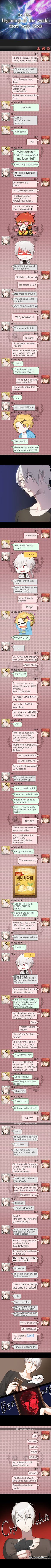 Mystic Messenger Chattoon #otome #visualnovel #geek