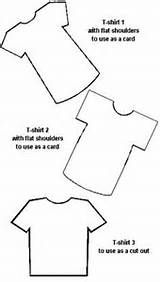 T-Shirt pattern. Use the printable outline for crafts