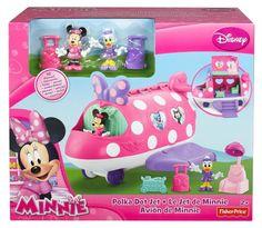 New Disney's Minnie Mouse Bowtique: Polka Dot Jet Ages 3 Up Preschool #FisherPrice