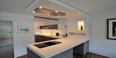 Corian® gestaltet Küchenunikate für jeden Grundriss