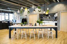 Kaospilot // staff room — Bastian & Liu