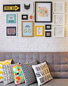 10 maneiras de usar cor na decoração de sua sala de estar ou de jantar #sala #maiscorporfavor #saladejantar #saladeestar #decasdedecoracao